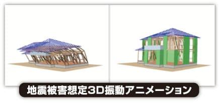 地震被害想定3D振動アニメーション