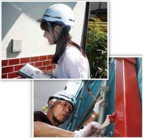 工事中はご近隣様への挨拶、職人マナー、現場管理など細やかな配慮を徹底します。